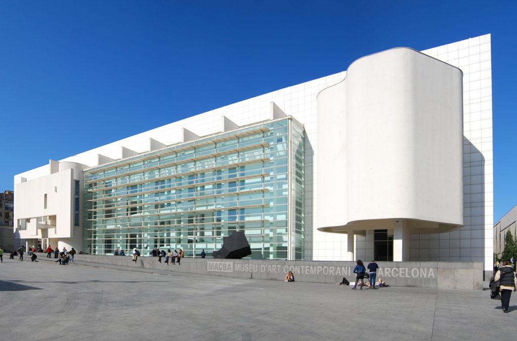 Macba Museu Dart Contemporani Barcelona
